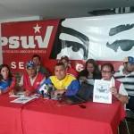 Vocero: Omar Hernández, le acompañan: Jessica Moreno, Carlos Romero, David Vivas, Vilma Vivas, Gerardo Zambrano, Estrella Uribe, Samuel López, Charly Rojas