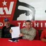 Omar Hernández, vocero en rueda prensa Psuv , martes 11 octubre 2016