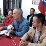 Freddy Bernal anunció los 30 delegados del Táchira al IV Congreso del PSUV