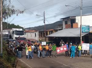 PROTESTA DOCENTES CAPACHO